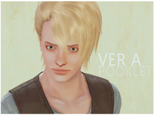 Butterfly Sims Male Hair 043 Retextures by Simsteria