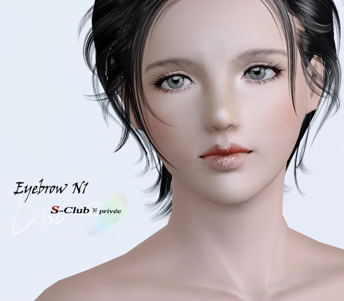 Eyebrow N1 by S-Club privee