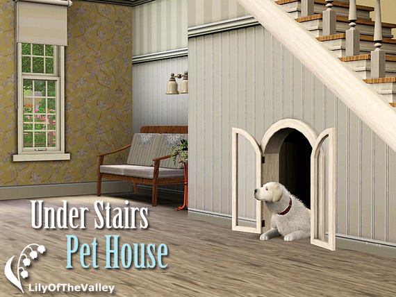 Under Stairs Pet House от LilyOfTheValley