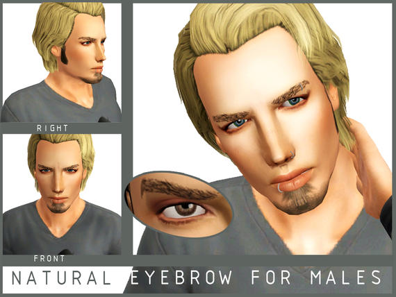 Natural eyebrow for males от Serpentrogue