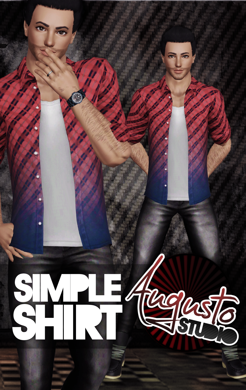 SIMPLE SHIRT by Augusto