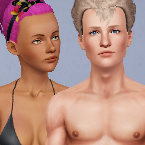 More Default and Non Default Skintones by There Was Nothing Left