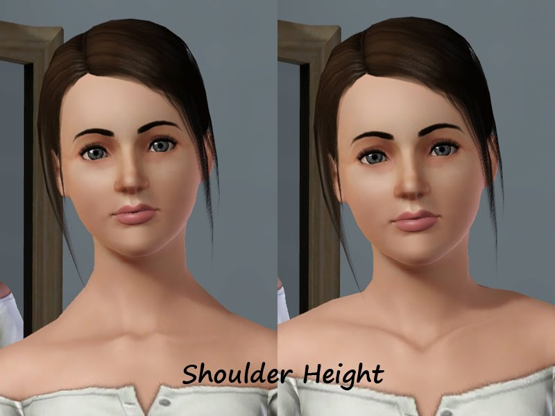 Facial sliders by Bella3lek4