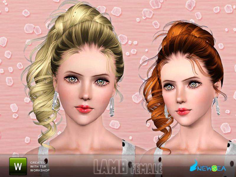 Newsea Lamb Female Hairstyle