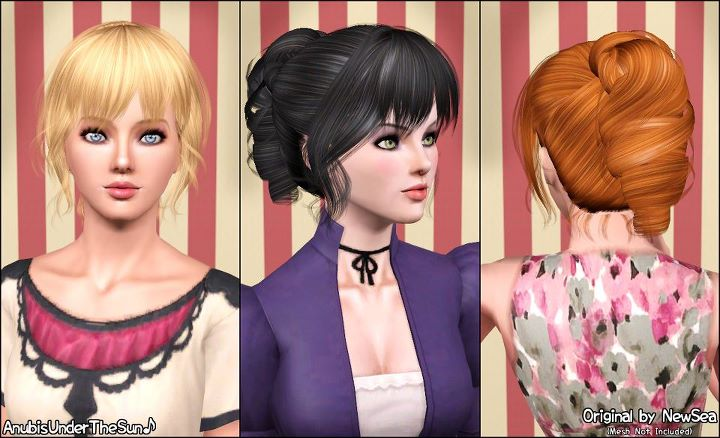 NewSeas EndlessSong Hairstyle ~ Retextured for all ages by Anubis360