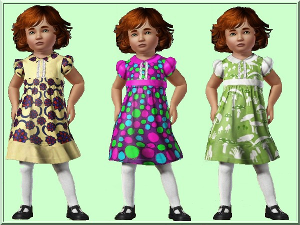 Toddler dress No2 recolor by Sheela