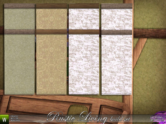 Rustic Living Build Set от Katelys