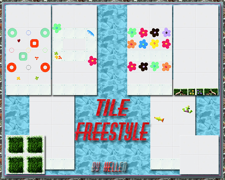 "Tile ""Freestyle"" BY Hellen"