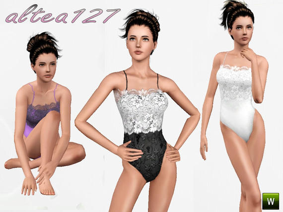 altea127 s body with lace