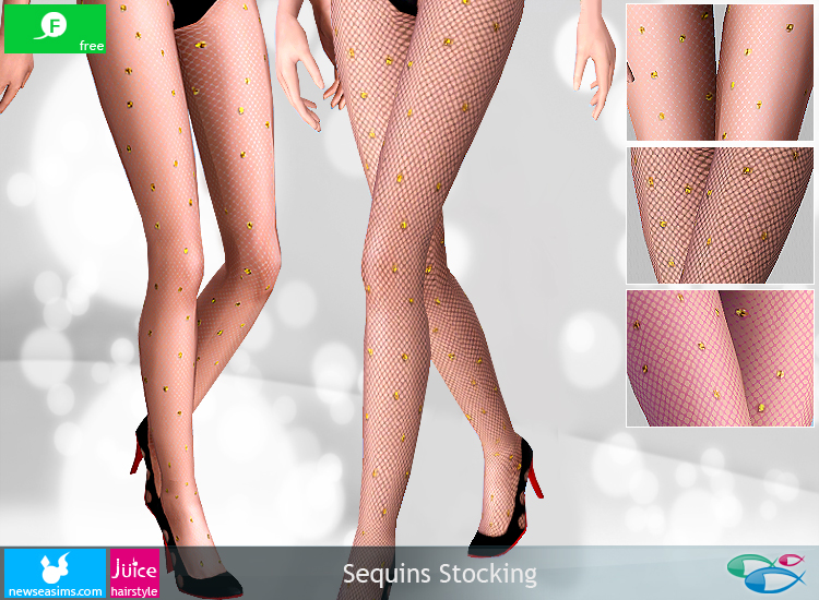 Sequins Stocking by Newsea