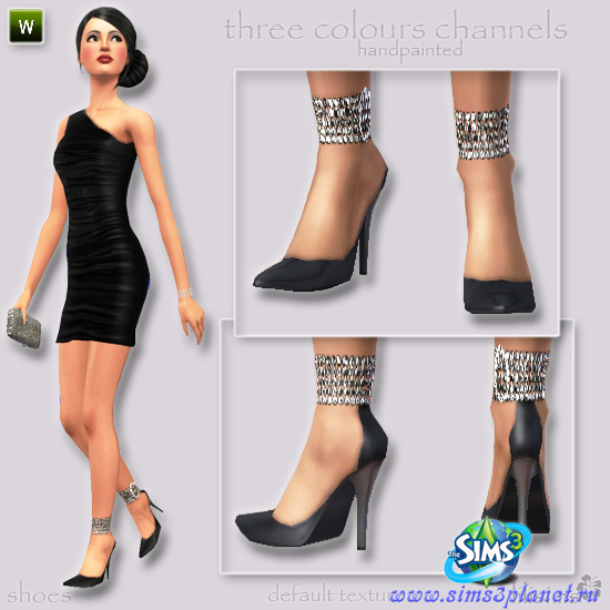 Shoes With Rhinestones for Young