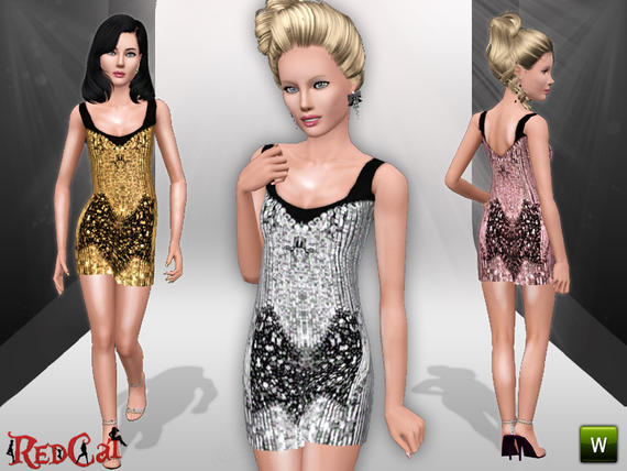 Teen Sequin Dress от RedCat