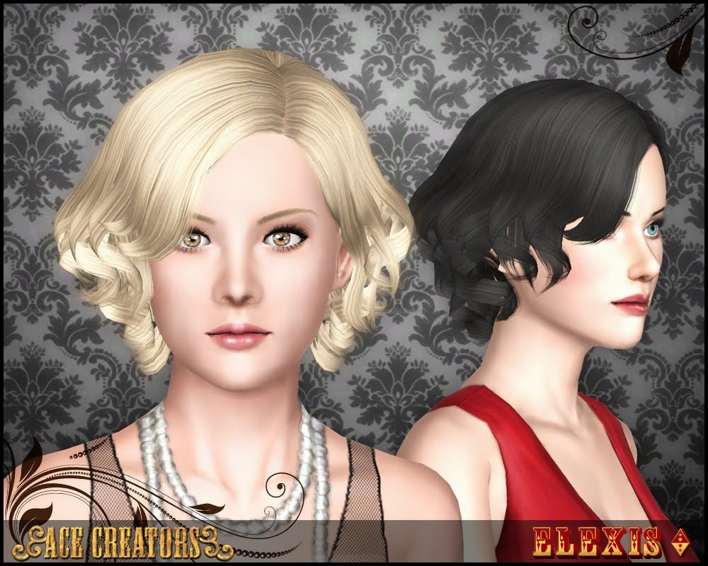 Florence - Curly Hairstyle by Elexis