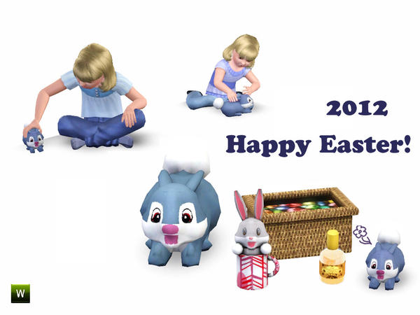 Easter 2012 Kit by Flovv