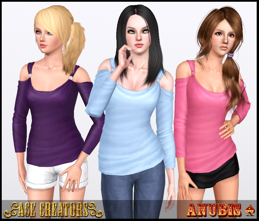 The Sims 3 Showtime Casual Trend Top - by Anubis