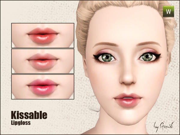 Kissable lipgloss от Gosik
