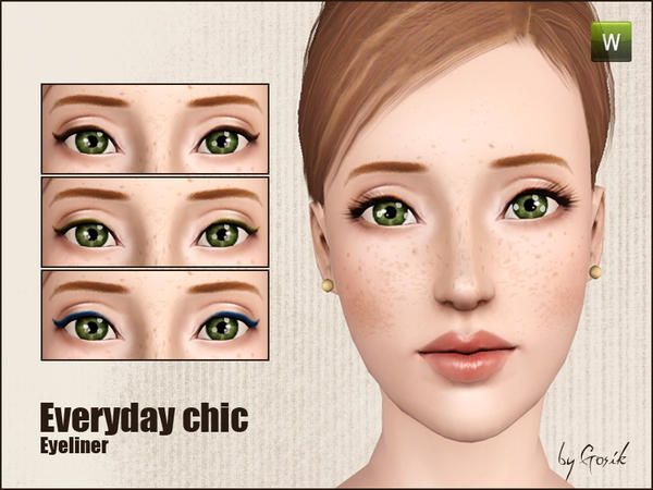 Everyday chic eyeliner от Gosik