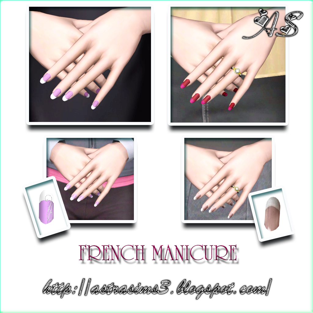 FRENCH MANICURE by Astra