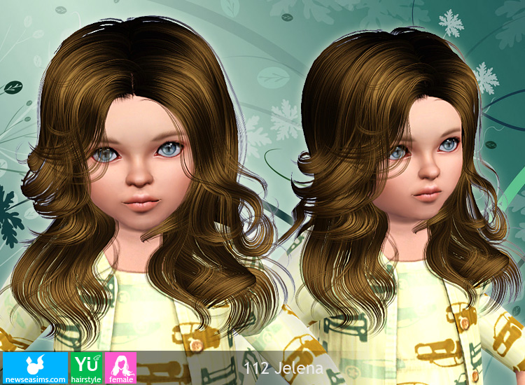 Jelena 112 female hairstyle by Newsea