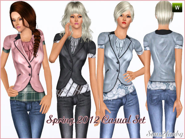Spring 2012 Casual by sims2fanbg