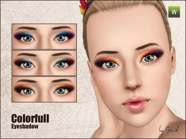 Colorfull eyeshadow от Gosik