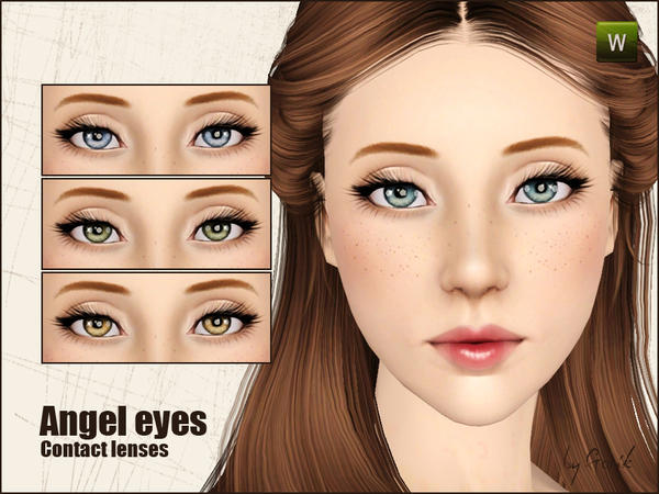 Angel eyes contact lenses от Gosik