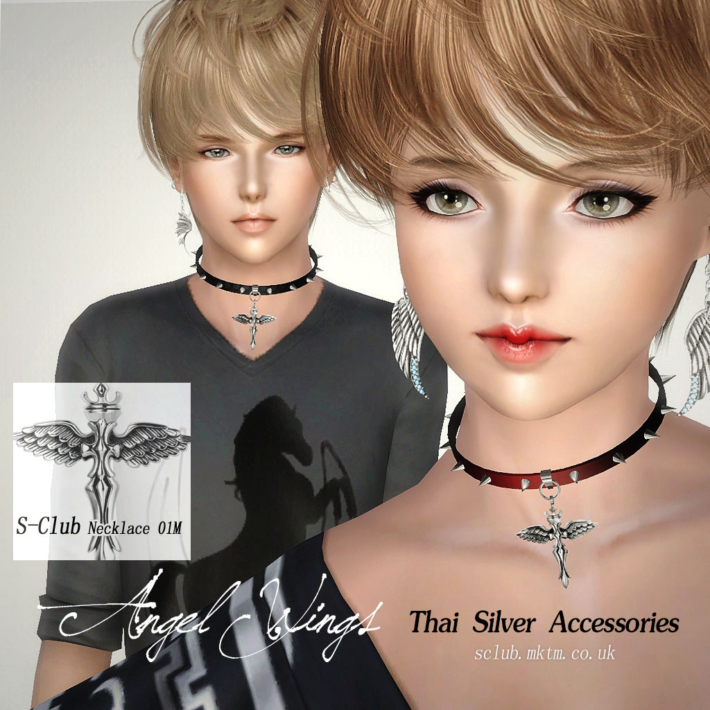 Angel Wings Necklace #01 от S-Club