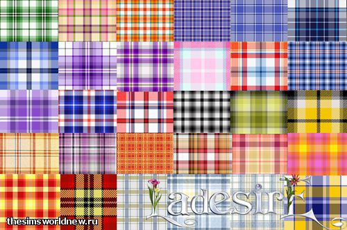 Plaid Pattern Set by LaDesire