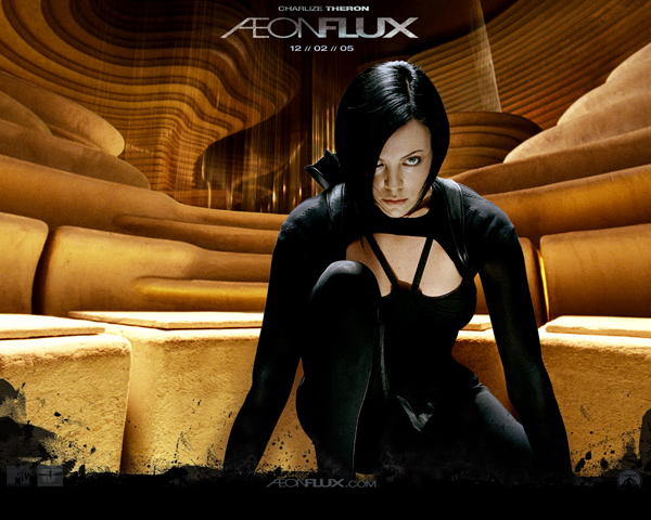 Aeon Flux costume by Anarchy-Cat