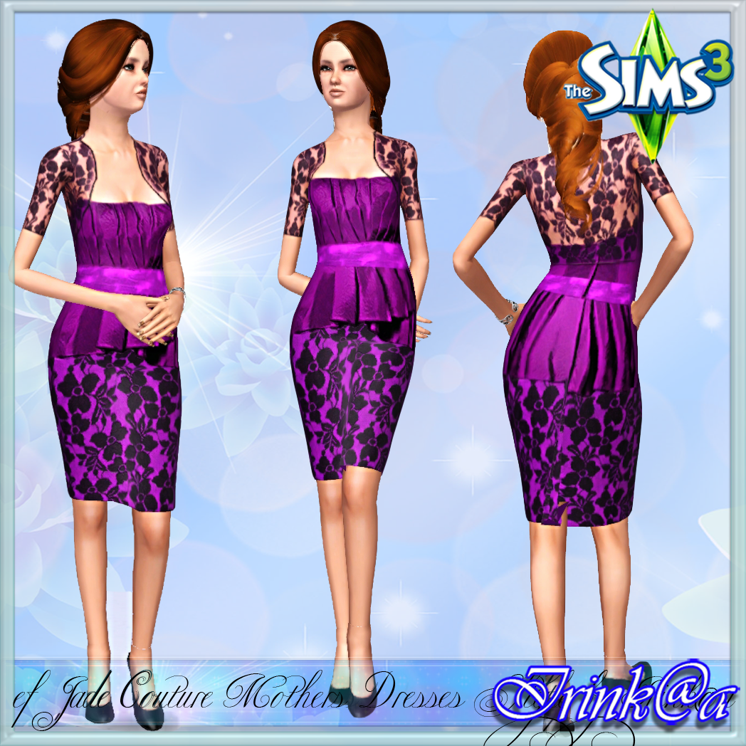 Elder Jade Couture Mothers Dresses Style by Irink@a