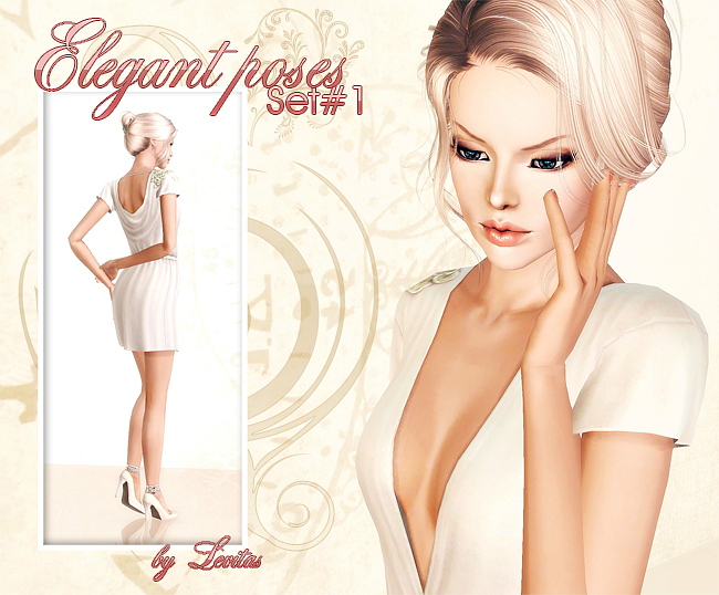 Elegant Poses Set № 1 by Levitas