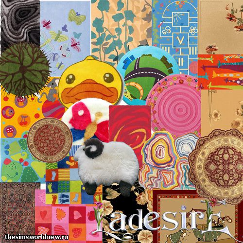 Rug Mix by Ladesire