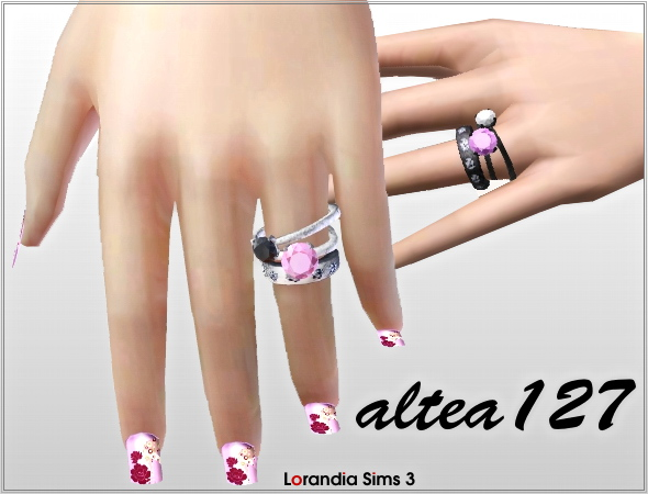 Pandora rings by Altea127