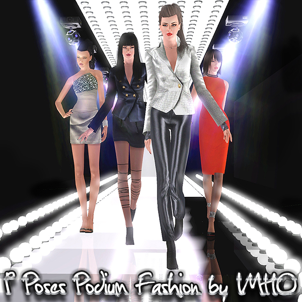 9 Poses Podium Fashion by IMHO