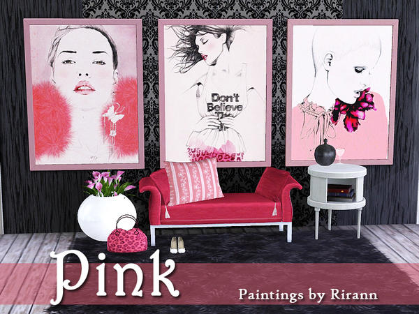 Pink by Rirann