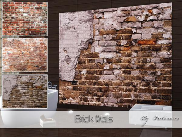 Brick Walls by Pralinesims
