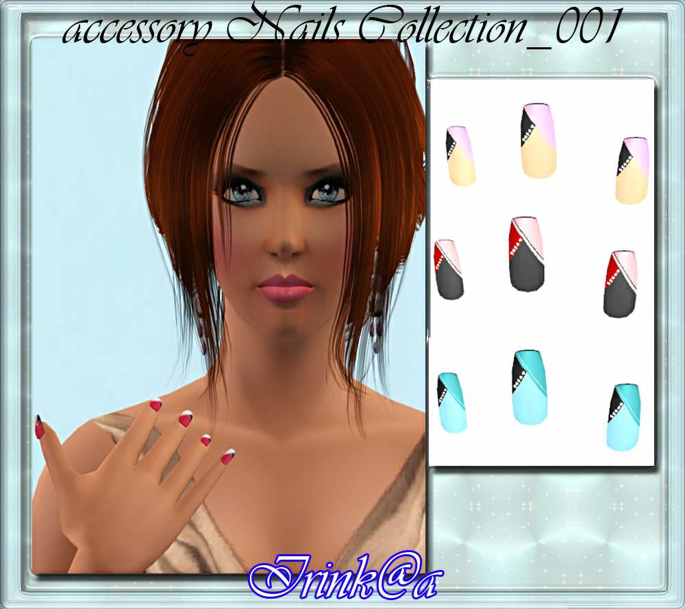 accessory Nails Collection_001 by Irink@a