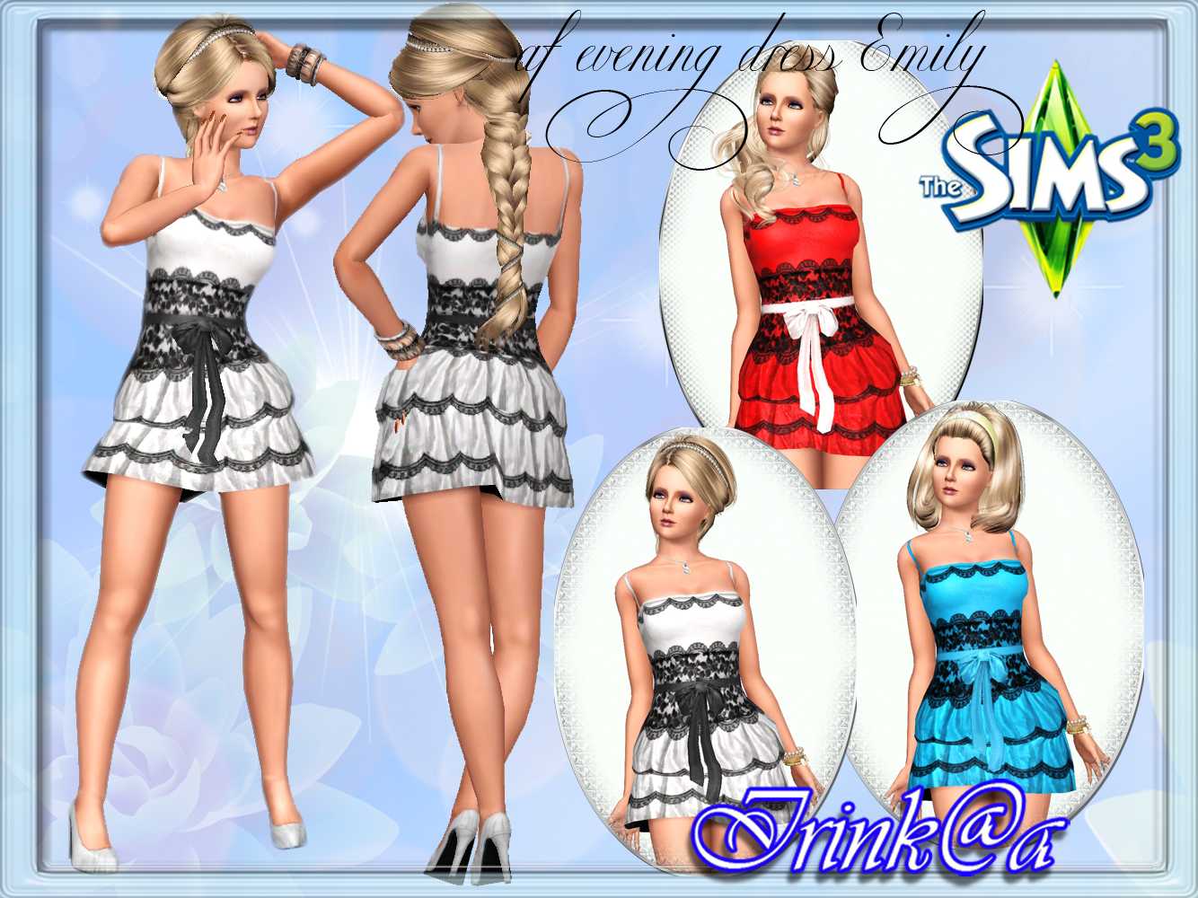 af dress Emily and shoes by Irink@a