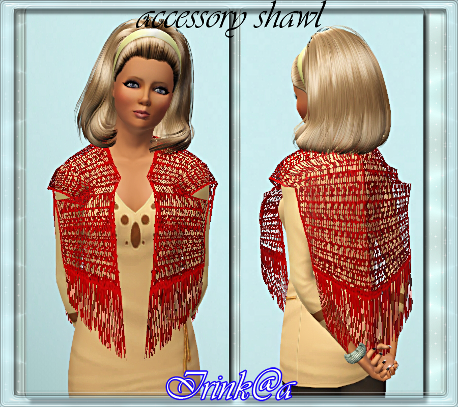 accessory shawl by Irink@a