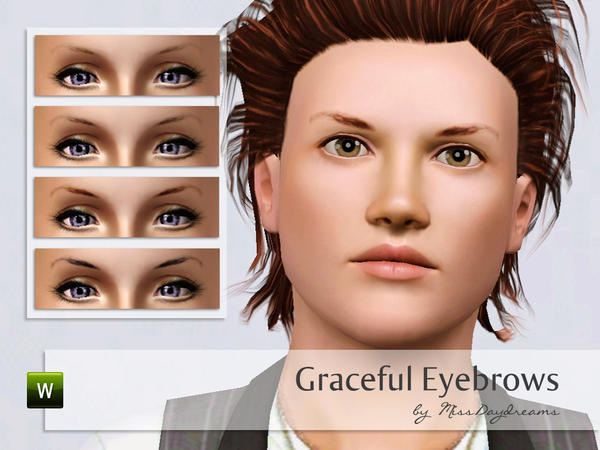 Graceful Eyebrows by MissDaydreams