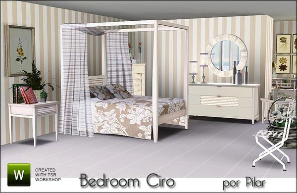 Bedroom Ciro by Pilar