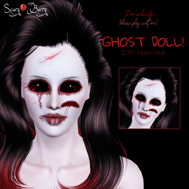 Ghost Doll! by ScaryBerry
