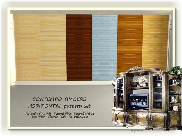 Contempo Timbers Horizontal pattern set by marcorse