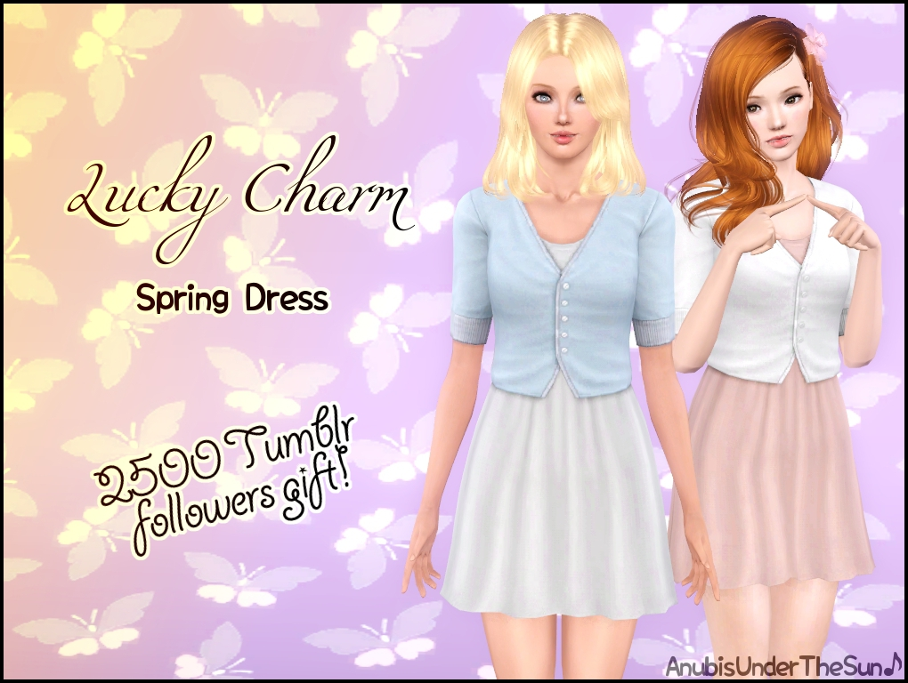 Lucky Charm ~ Spring Dress by Anubis