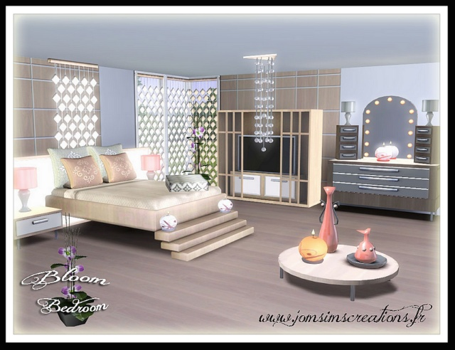 Sims bedroom ideas