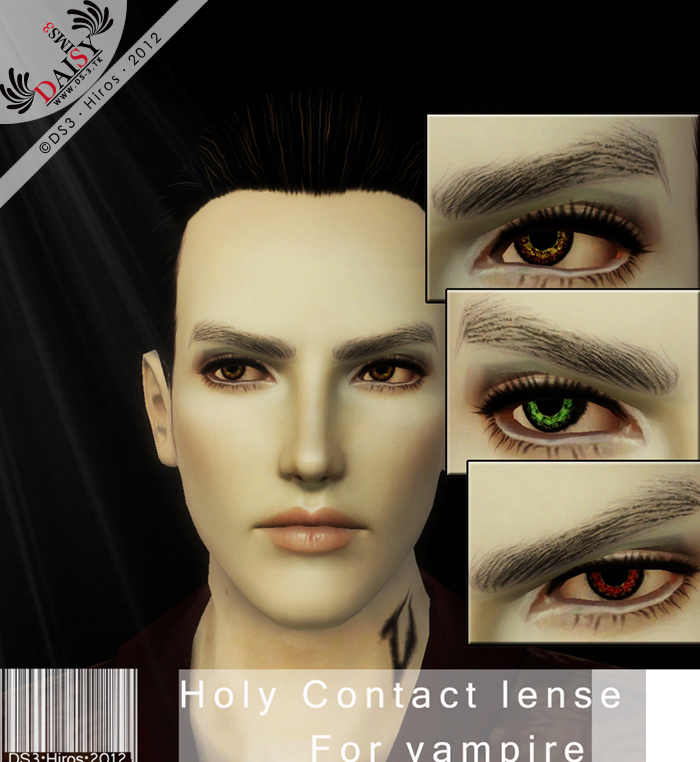 Non Default-Holy Contact Lense For Vampire by Hiros