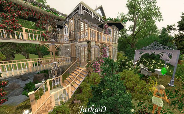 Forest House by JarkaD