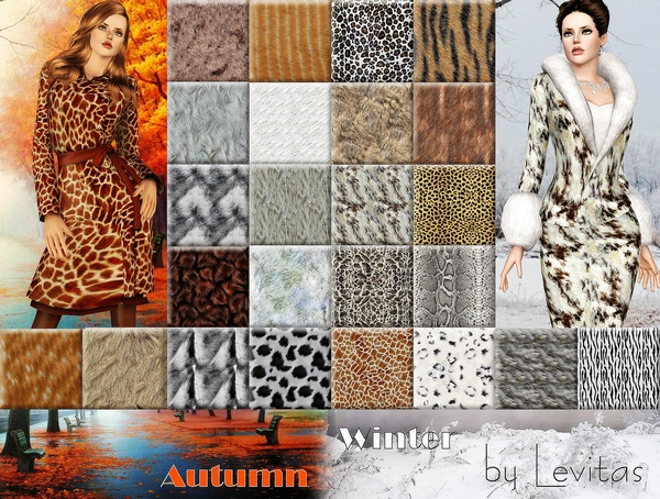 Fur patterns by Levitas