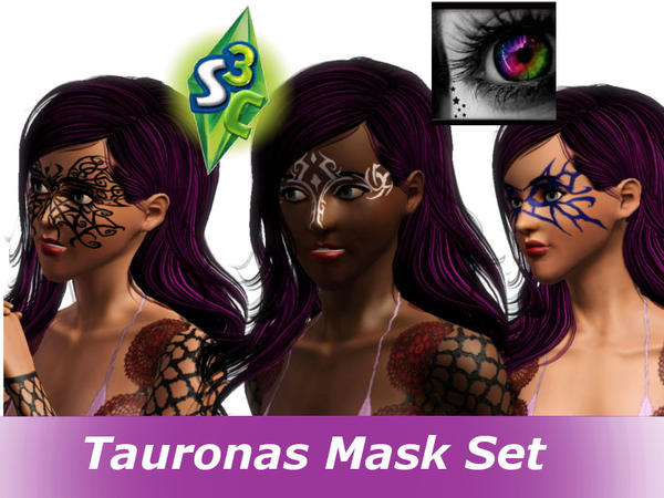 Tauronas Mask Set by Taurona