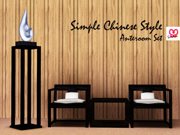 Simple Chinese Anteroom by Susan372